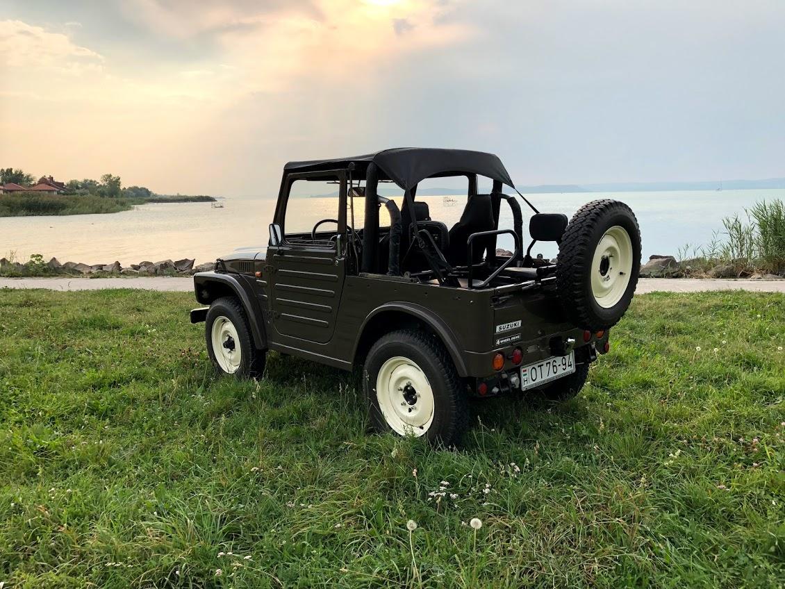 Veterán Suzuki Jeep