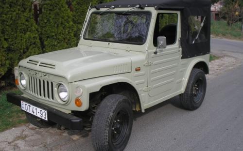 Suzuki LJ 80 Oldtimer Restaurálás
